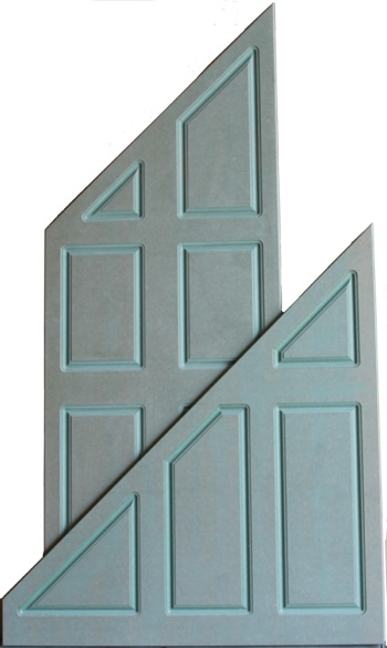 Mdf doors and mdf panels ideal for painting for Door under stairs
