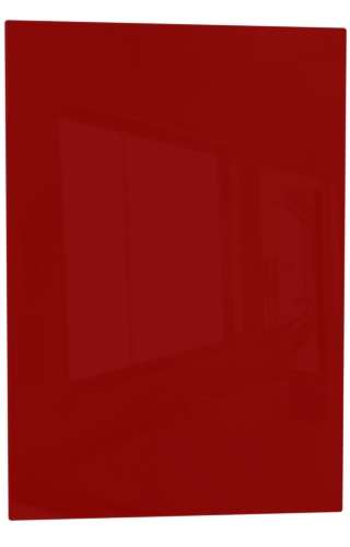 Red High  Gloss thickness 18mm -