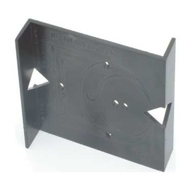 Jig for mounting plates and hinges