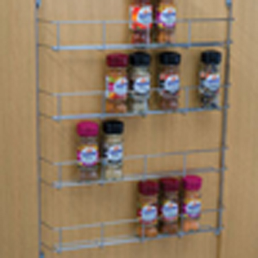 Spice and packet rack Four tier