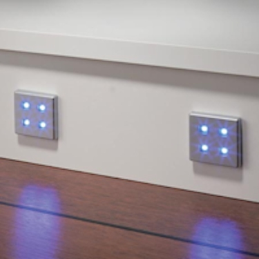 LED square plinth light set  12V/0 5W